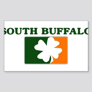 South Buffalo Irish (orange) Rectangle Sticker