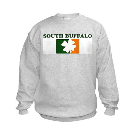 South Buffalo Irish (orange) Kids Sweatshirt