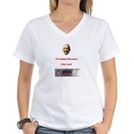 The Joy of Lard Women's V-Neck T-Shirt