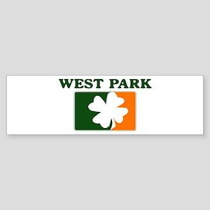 West Park Irish (orange) Bumper Sticker