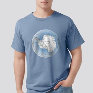 Map Antarctica T-Shirt