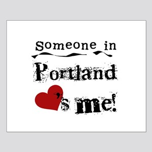 Portland Loves Me Small Poster