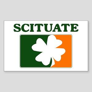 Scituate Irish (orange) Rectangle Sticker