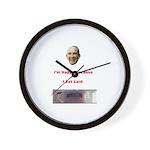 The Joy of Lard Wall Clock