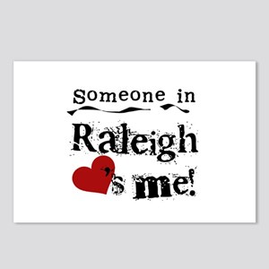 Raleigh Loves Me Postcards (Package of 8)