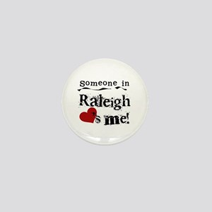 Raleigh Loves Me Mini Button
