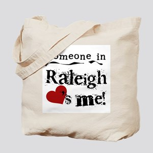Raleigh Loves Me Tote Bag