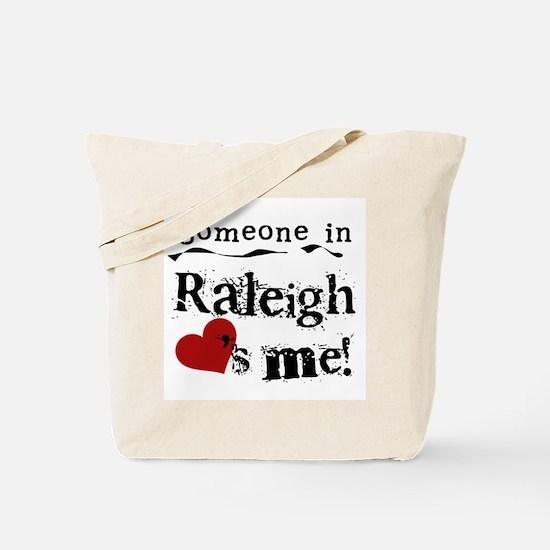 Raleigh Loves Me Tote Bag