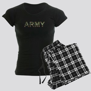 2-ARMY.woodland Pajamas