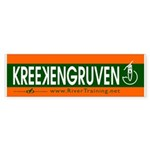 KREEKENGRUVEN. Bumper Sticker