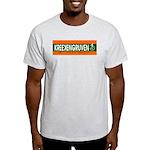 KREEKENGRUVEN. Ash Grey T-Shirt