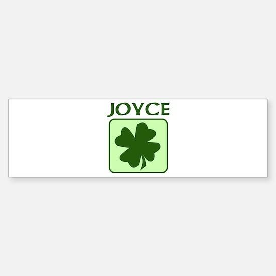 JOYCE Family (Irish) Bumper Bumper Bumper Sticker