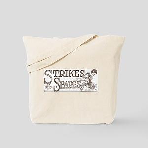 Bowling Strikes & Spares Tote Bag