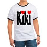 I love kiki Ringer T