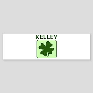 KELLEY Family (Irish) Bumper Sticker
