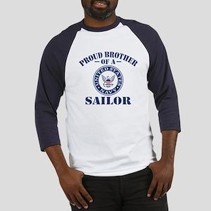 Proud Brother Of A US Navy Sailor Baseball Jersey