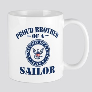 Proud Brother Of A US Navy Sailor Mug
