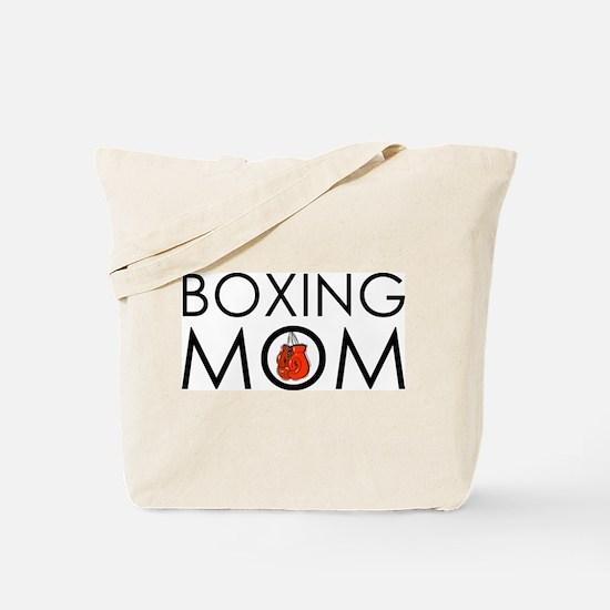 Boxing Mom Tote Bag