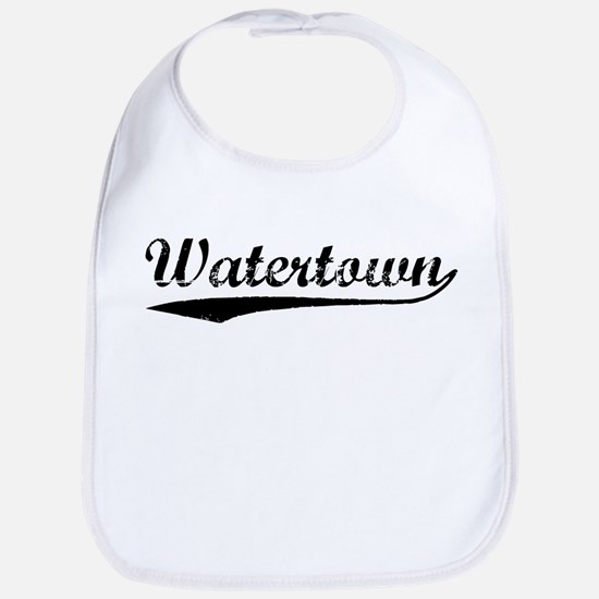 Vintage Watertown (Black) Bib