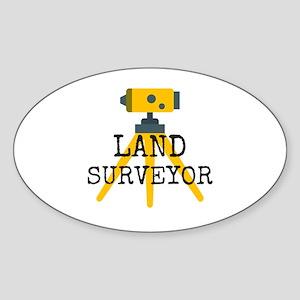 Land Surveyor Sticker