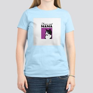 Four-Cat Mama Women's Light T-Shirt