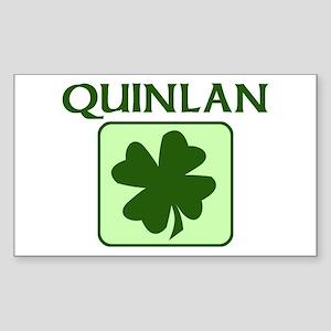 QUINLAN Family (Irish) Rectangle Sticker