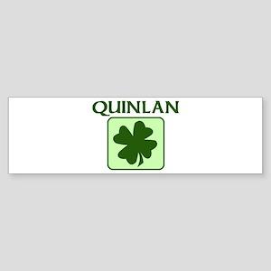 QUINLAN Family (Irish) Bumper Sticker