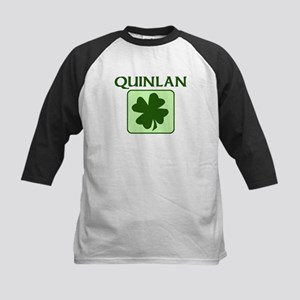QUINLAN Family (Irish) Kids Baseball Jersey