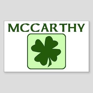 MCCARTHY Family (Irish) Rectangle Sticker