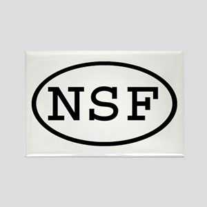 NSF Oval Rectangle Magnet