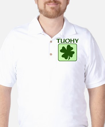 TUOHY Family (Irish) Golf Shirt
