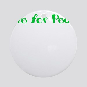 Vote for Pedro Ornament (Round)