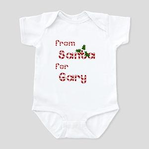 From Santa For Gary Infant Bodysuit