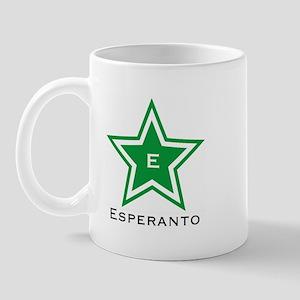 Esperanto Star Mug