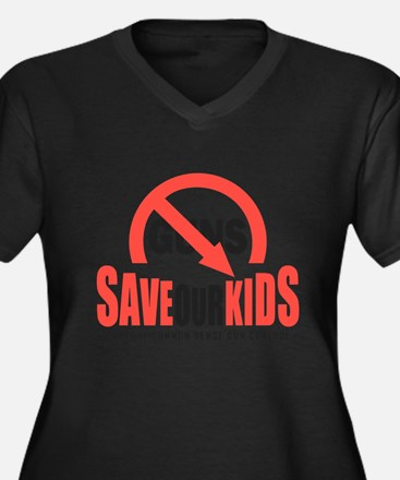 Save Our Kids Plus Size T-Shirt
