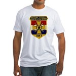 USS BELLEAU WOOD Fitted T-Shirt