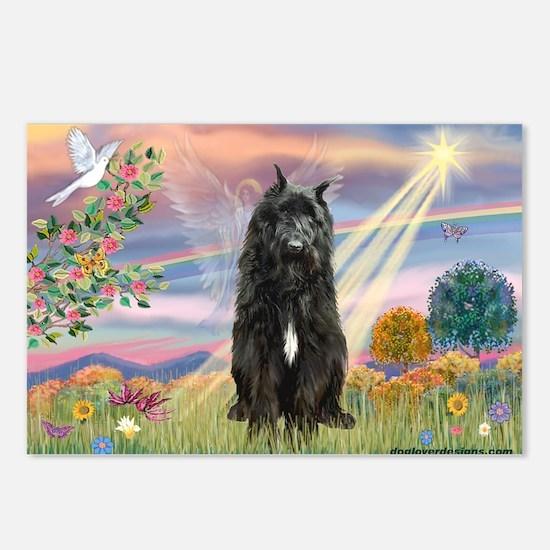Cloud Angel & Bouvier Postcards (Package of 8)
