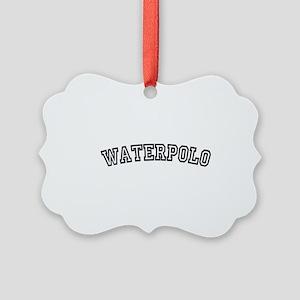 waterpolo Picture Ornament