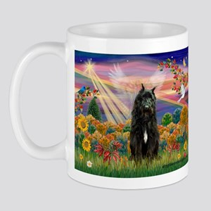 Autumn Angel & Bouvier Mug