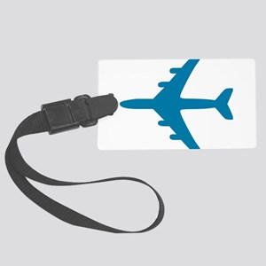 airplane Large Luggage Tag