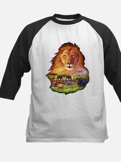 Lion King Kids Baseball Jersey