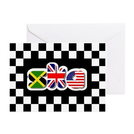 Flags of Ska Greeting Cards (Pk of 10)
