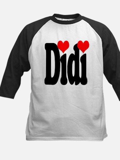 I love Didi Kids Baseball Jersey