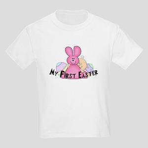 First Easter Girl Bunny Kids Light T-Shirt