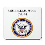 USS BELLEAU WOOD Mousepad