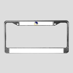 SUN & MOON (YIN YANG) License Plate Frame