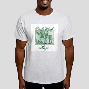 420 Smoke Break Magic Ash Grey T-Shirt