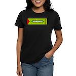 Doublegrins Happy Twins Women's Dark T-Shirt