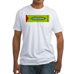 Doublegrins Happy Twins Fitted T-Shirt