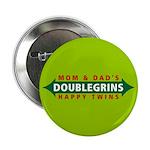 "Doublegrins Happy Twins 2.25"" Button (100 pac"